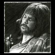 Eric Clapton, Pencil, Drawing, Underwood